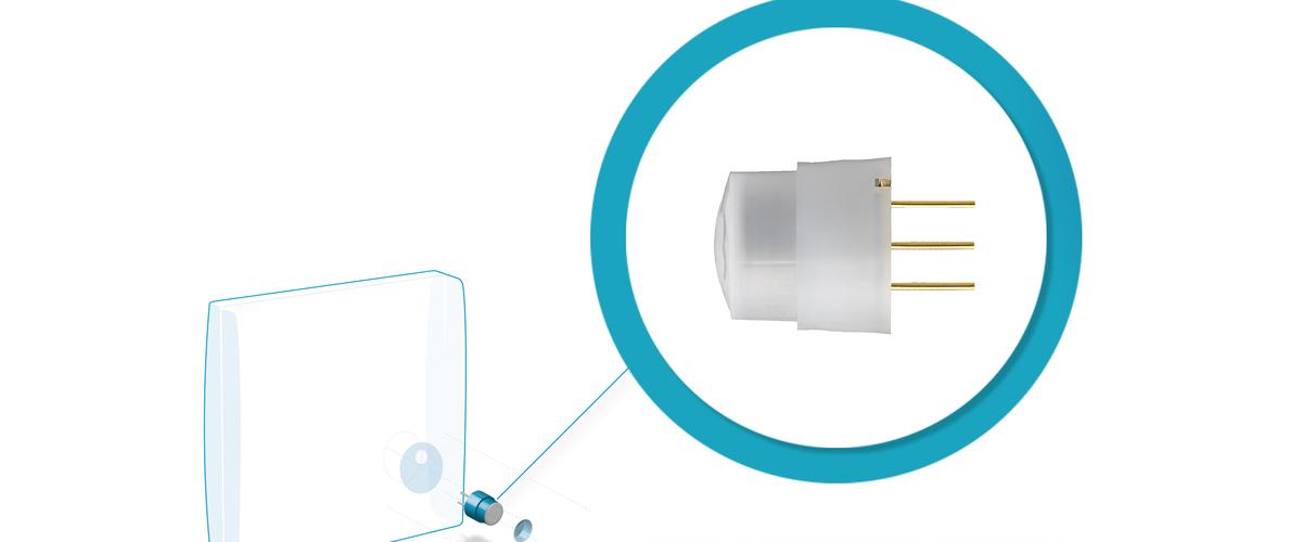 New PaPIRs low profile motion sensor