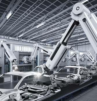 Application industrial automation robot arm right