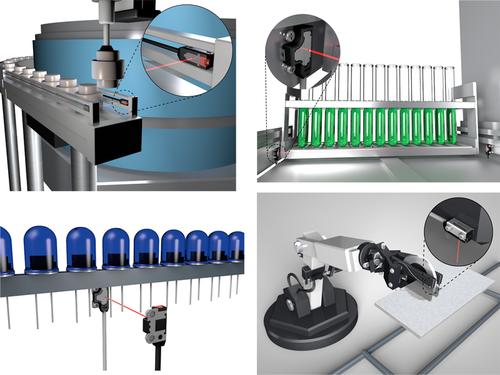 EX-Z photoelectric sensor applications