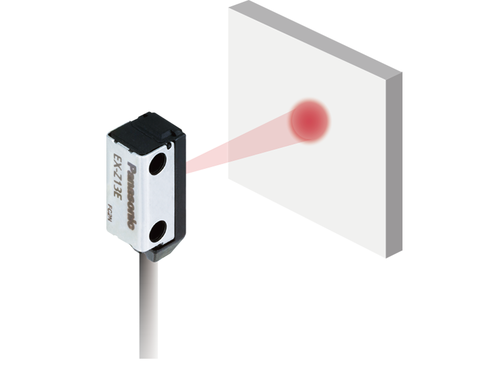 EX-Z photoelectric sensor, capability to sense a small Ø 1.0mm object over long distance (EX-Z13□)