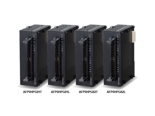 FP0H positioning units, suitable for ultra-fast linear servo drives