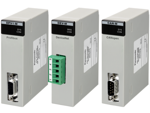 Premium PLC FP2SH Fieldbus Master Units for PROFIBUS DP, CANopen and DeviceNet