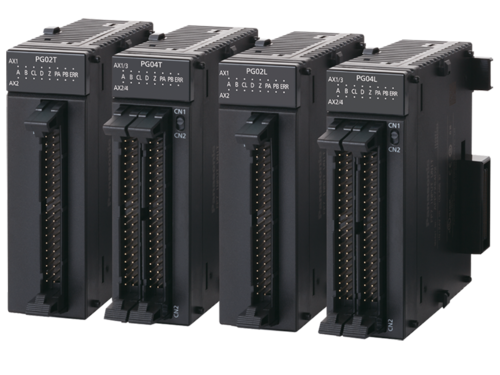 Premium PLC FP7 pulse output units