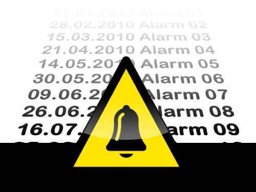 HMI GT series alarm history data