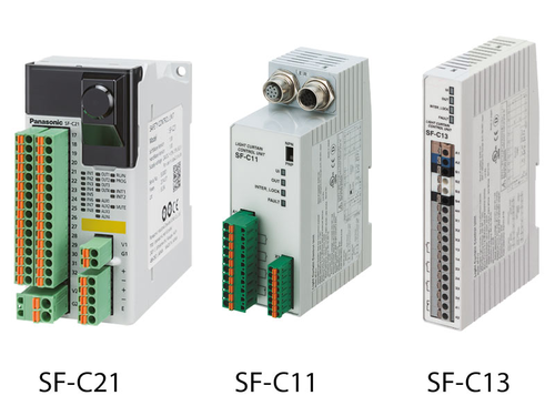 SF4D Safety control units
