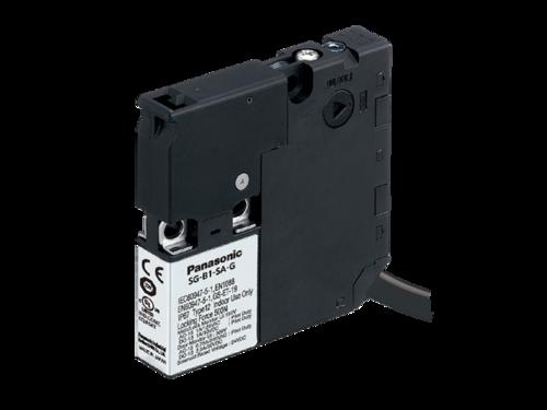 Ultra-slim safety door switch with solenoid interlock SG-B1