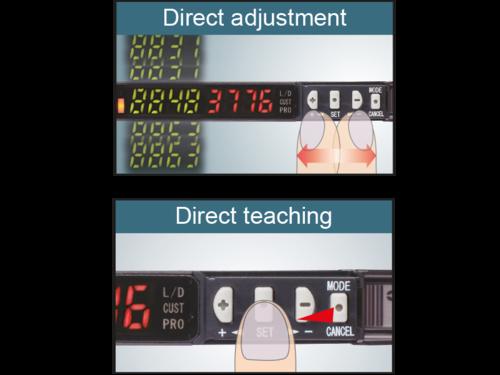 FX550 Direct settings