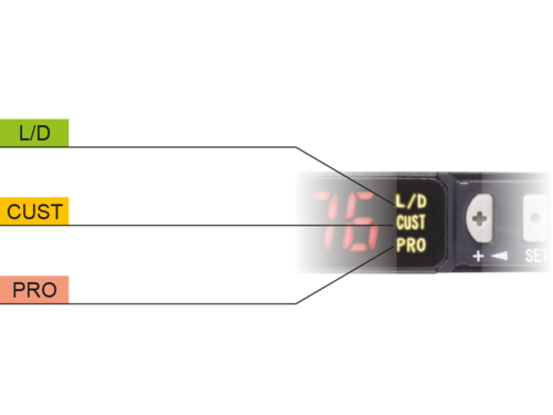 FX550L Simplified operation for standard applications