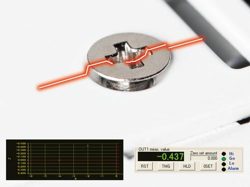 HL-D3 measurement sensor Checking of screw heads