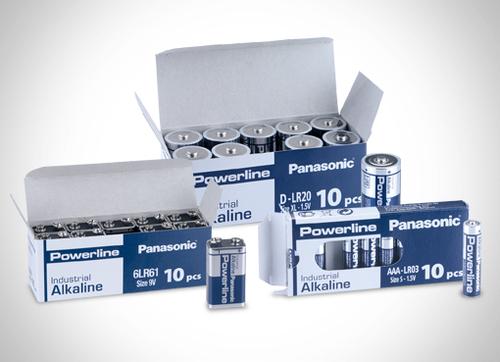 Alkaline batteries from Panasonic