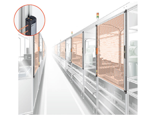 Safety solution: Detection of ingress into operating area of manufacturing equipment