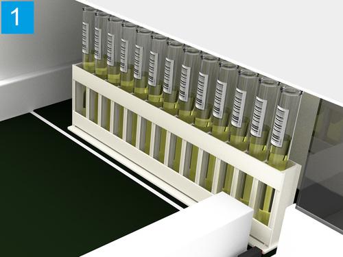 Tube rack detection