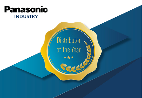 Panasonic Industry  distribution awards