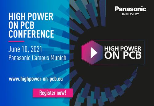 news High Power on PCB Panasonic Industry Vogel Communications Elektronik Praxis