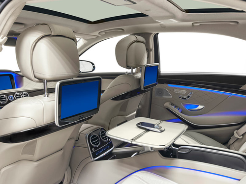 Application car interior