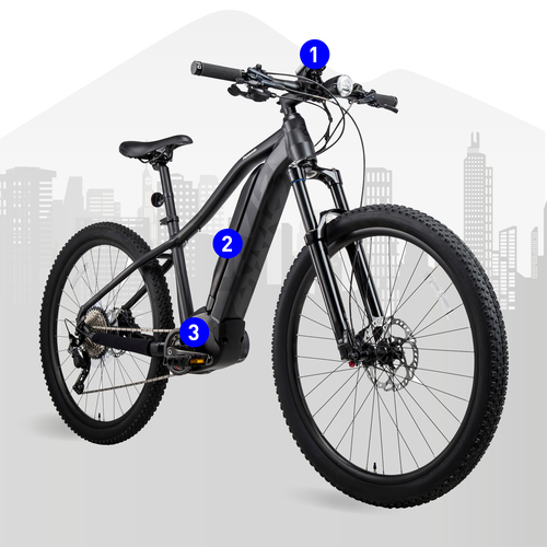 e-bike cross selling components devices