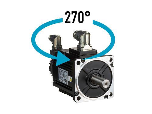 MINAS A6 400V servo motors Robust connectors