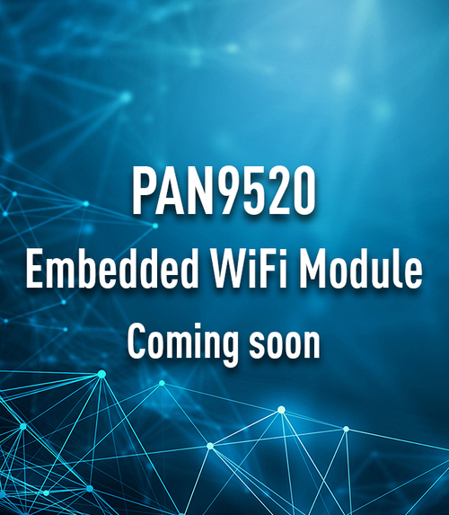 wireless connectivity wi-fi PAN9520 Teaser