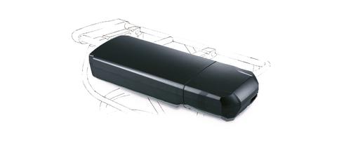 Panasonic rear-carrier battery for e-bikes
