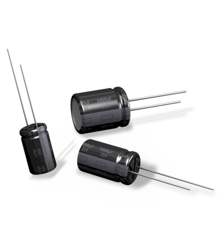 Aluminum electrolytic capacitors (Radial lead type)