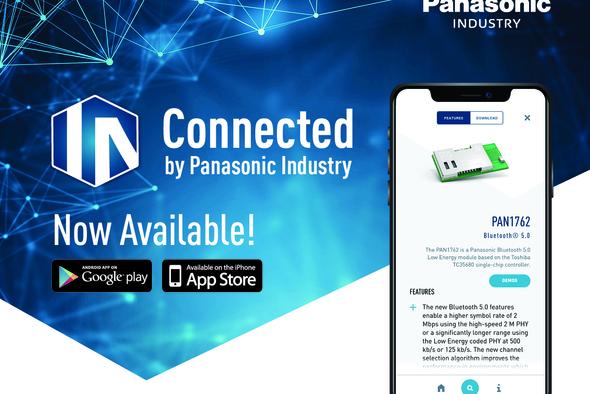 App for wirless modules from Panasonic