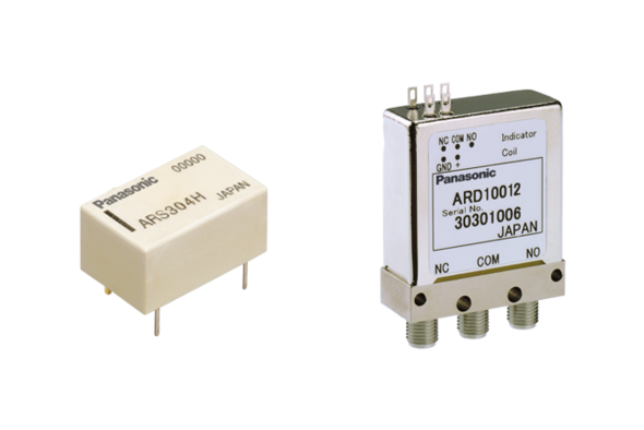 High frequency relays