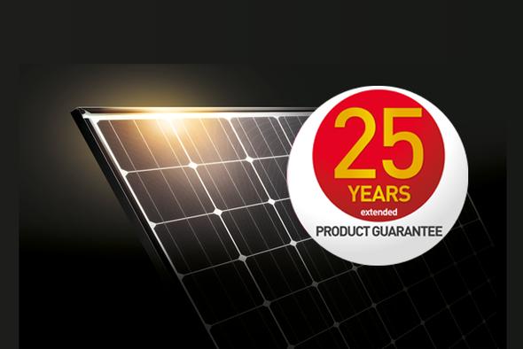 PAnasonic 25 years guarantee