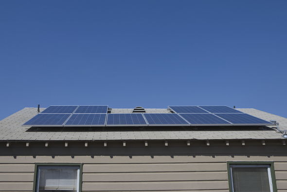 home-iot solar-generation-system_roof