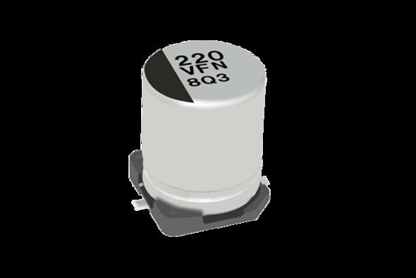 capacitors lytic smd FN series