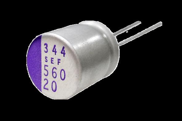 capacitors polymer os-con SEF Teaser
