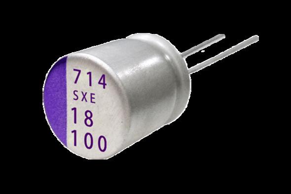 capacitors polymer os-con SXE Teaser