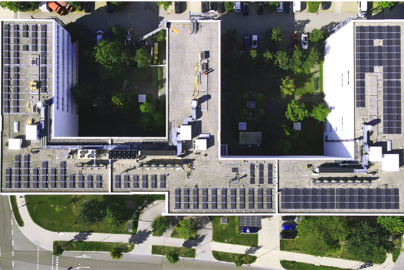 Panasonic Industry Headquarters PV Installation teaser