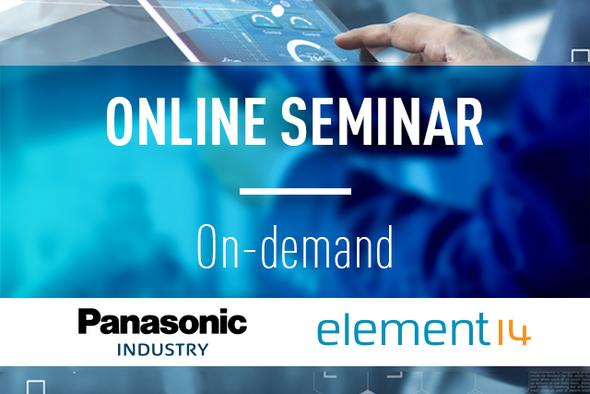 wireless connectivity online seminar Element14 teaser