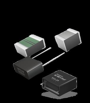capacitor film shadow