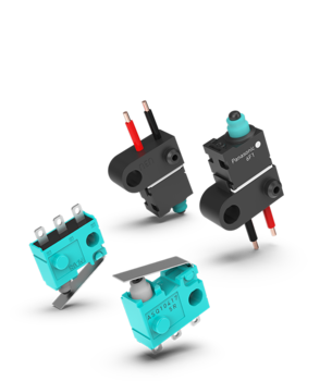 Sealed micro switches shadow