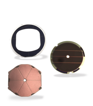 Amorton for solar-powered watches shadow