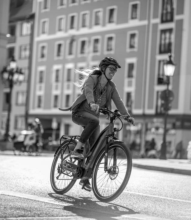 e-bike Urban mood area